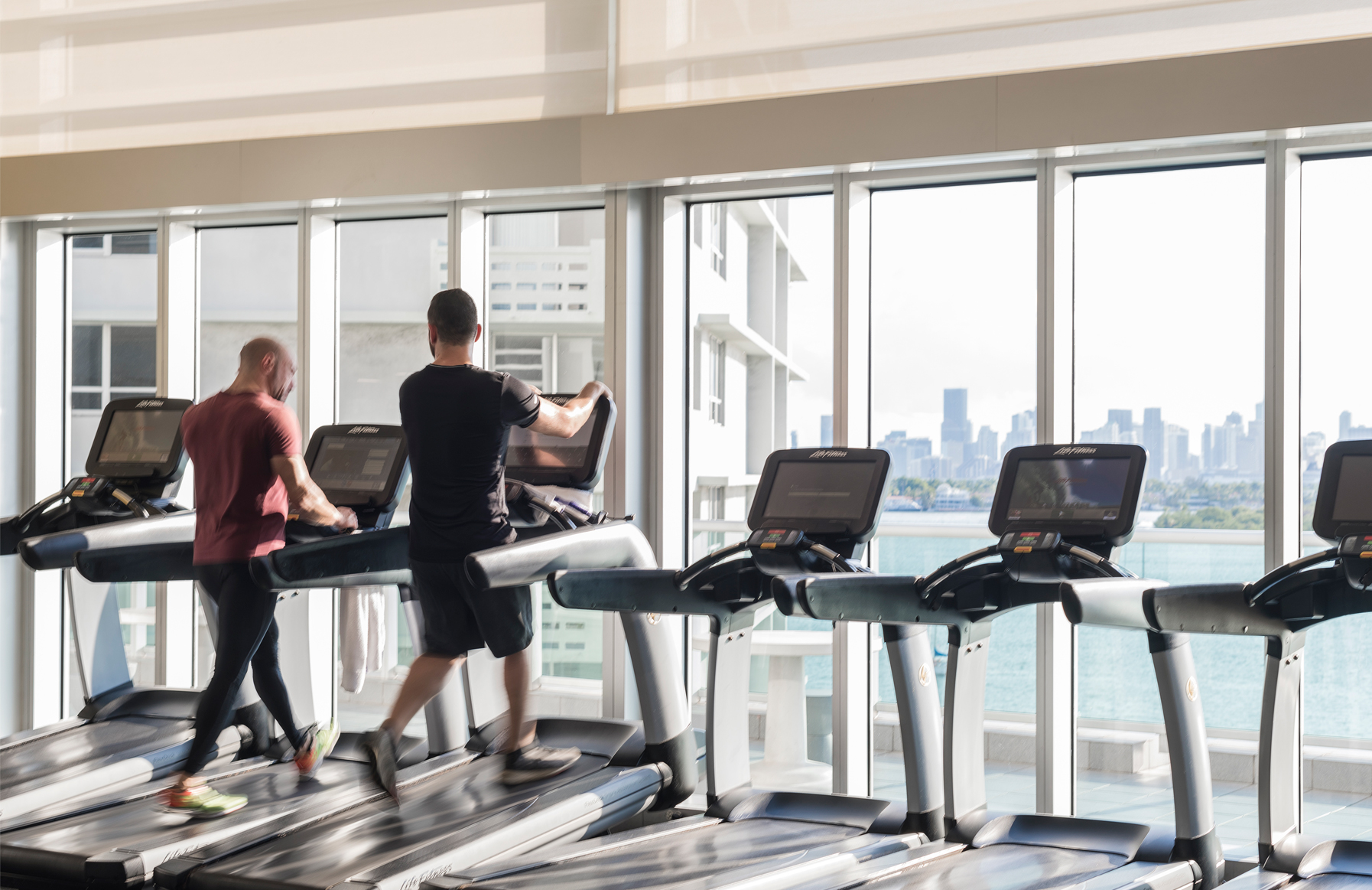 Treadmills - Flamingo Point South - Miami FL